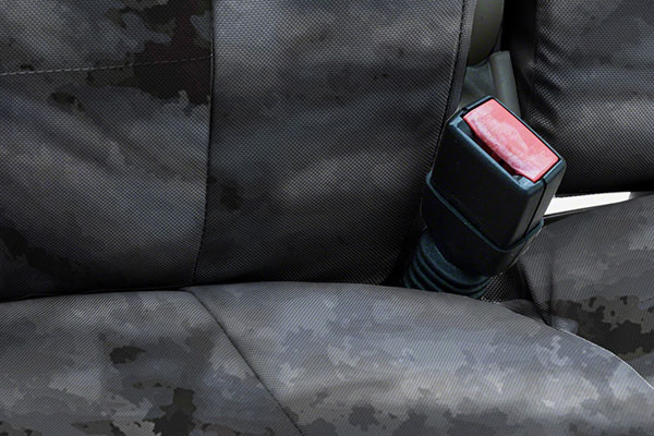 a tacs tactical camo canvas seat covers by coverking detail