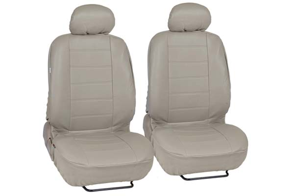AutoAnything Select Universal Fit Beige Leatherette Seat Covers