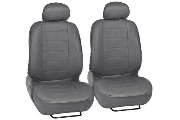 AutoAnything Select Universal Fit Grey Leatherette Seat Covers