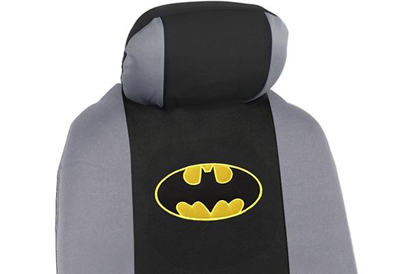 bdk batman seat covers logo detail