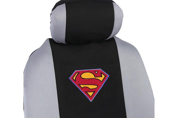 bdk superman seat covers detail