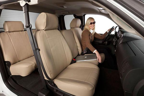 cal trend icbinl seat cover beige girl