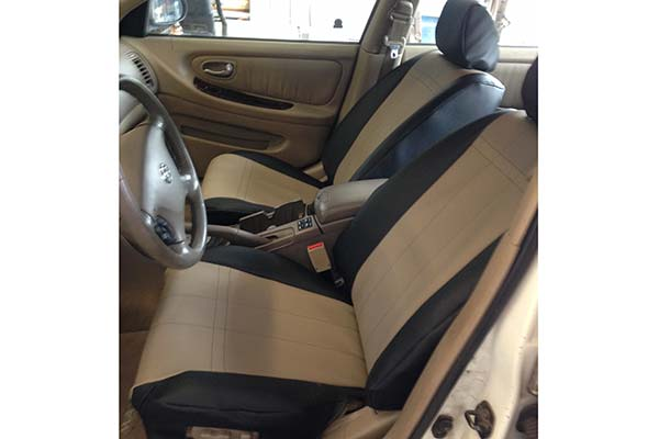 Customer Submitted Image - Caltrend I Cant Believe Its Not Leather Seat Covers