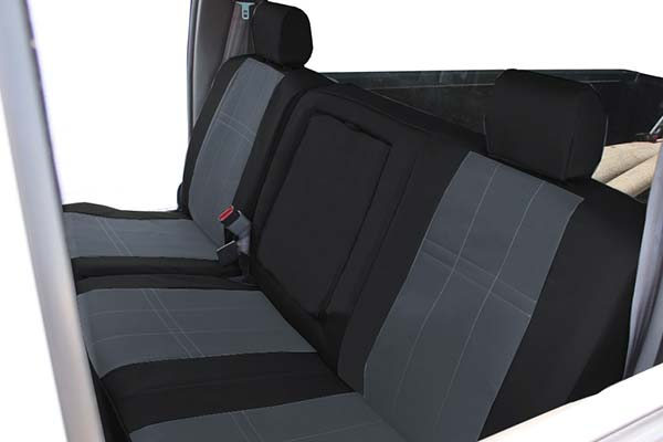 Caltrend Cordura Car Seat Covers in Black and Charcoal