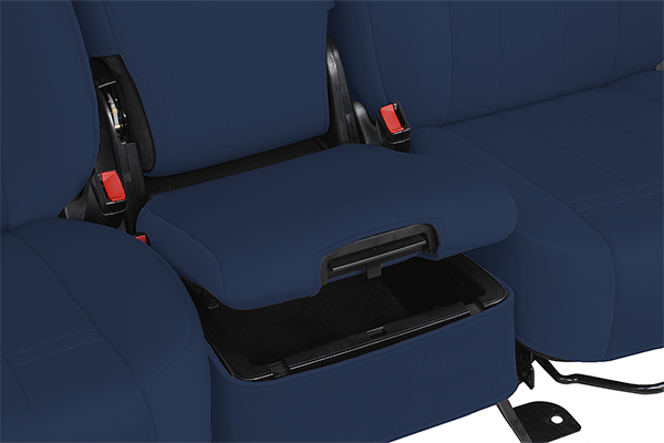 caltrend genuine neoprene seat covers covers center console