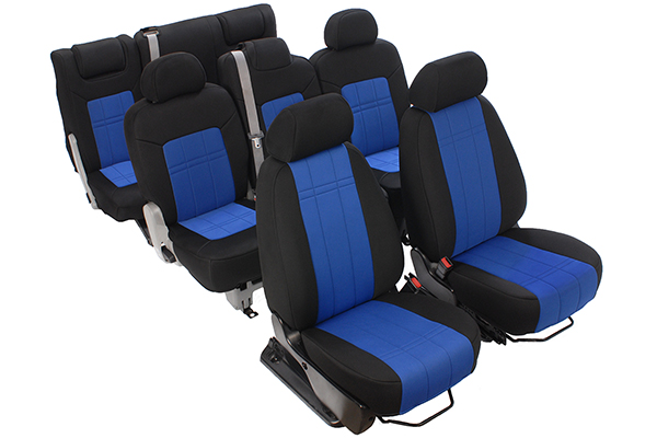 caltrend genuine neoprene seat covers installed