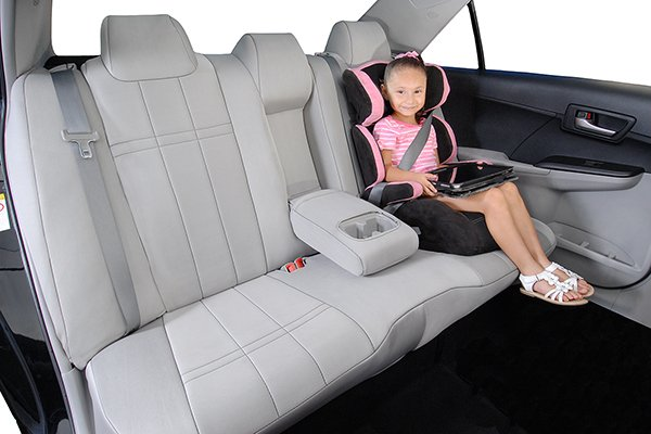 caltrend genuine neoprene seat covers lifestyle rear seat