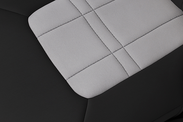 caltrend genuine neoprene seat covers texture detail