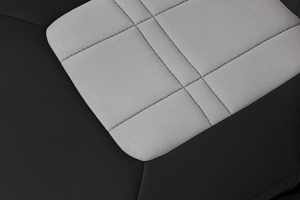 caltrend genuine neoprene seat covers texture detail