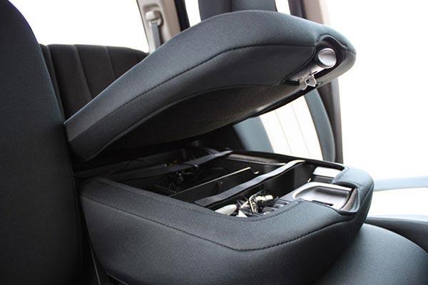 caltrend neosupreme seat covers Center Console Cover Black