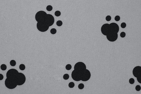 caltrend pet print seat covers light grey detail