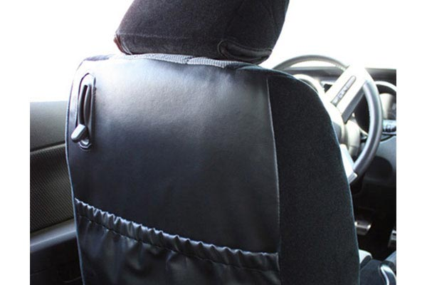 caltrend velour seat cover rear passenger