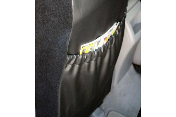 caltrend velour seat cover rear pocket