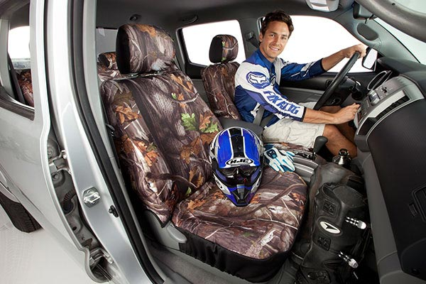 camo seat covers saddleman H 005