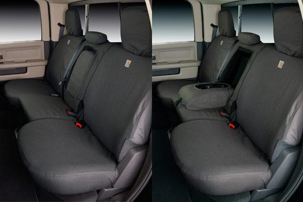 carhartt duck weave seat covers rear center console