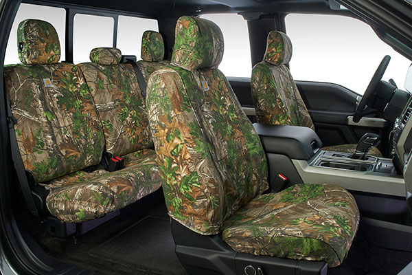 carhartt realtree camo canvas seat covers installed