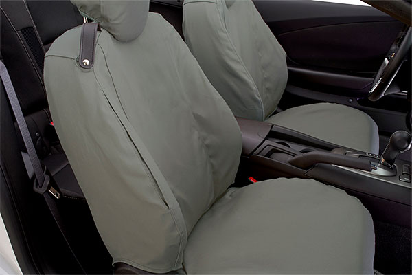 covercraft seatsaver hp canvas seat covers detail