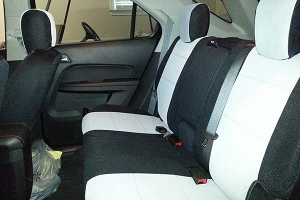 Customer Submitted Image - Coverking Spacer Mesh Seat Covers for 2012 to 2017 Chevy Equinox