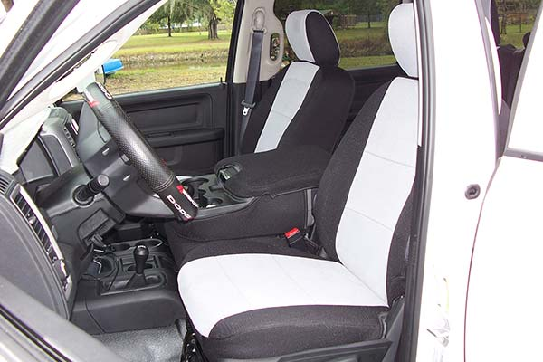 Customer Submitted Image - Coverking Spacer Mesh Seat Covers for 2013 to 2019 Dodge Ram