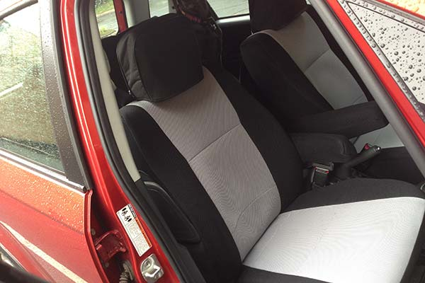 Customer Submitted Image - Coverking Spacer Mesh Seat Covers for 2007 to 2013 Suzuki SX4