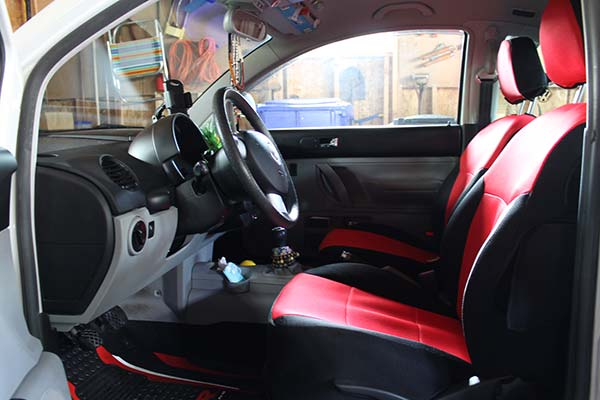 Customer Submitted Image - Coverking Spacer Mesh Seat Covers for 1999 to 2002 VW Beetle