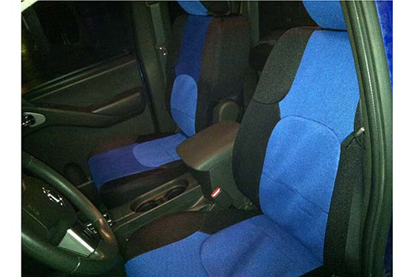 Customer Submitted Image - Coverking Spacer Mesh Seat Covers for 2010 to 2011 Nissan Frontier