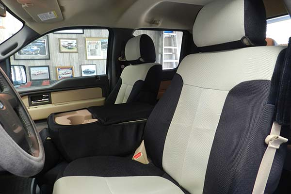 Customer Submitted Image - Coverking Spacer Mesh Seat Covers for 2011 to 2012 Ford F-150