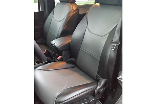 Customer Submitted Image - Coverking Leatherette Seat Covers for 2014 to 2018 Jeep Wrangler