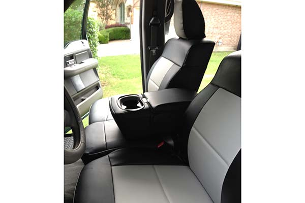 Customer Submitted Image - Coverking Leatherette Seat Covers for 2005 to 2008 Ford F-150