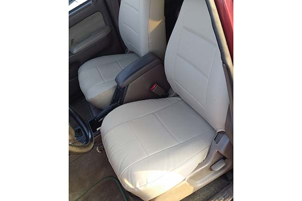 Seat Covers For Trucks >> Coverking Leatherette Seat Covers