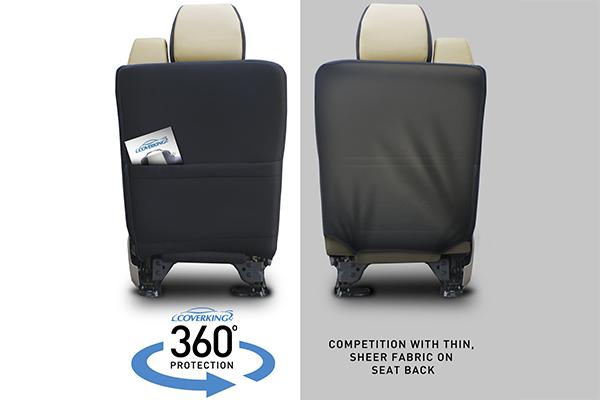 coverking collegiate neosupreme seat covers 360 fit