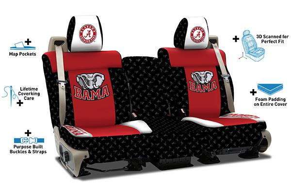 coverking collegiate neosupreme seat covers features