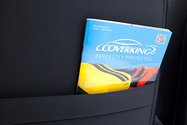 coverking designer print neosupreme seat covers pocket