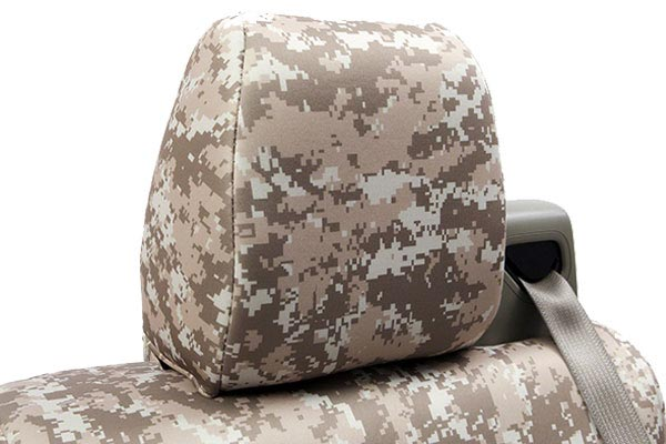 coverking digital camo neo supreme seat cover headrest