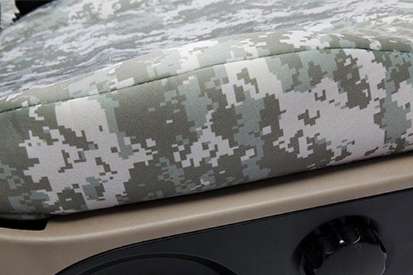 coverking digital camo neo supreme seat cover profile