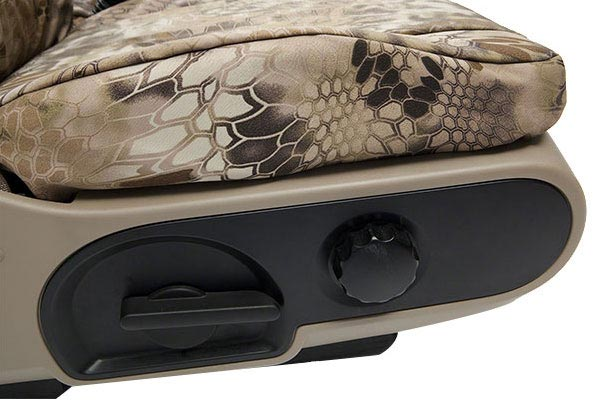 coverking krypteck camo ballistic seat profile