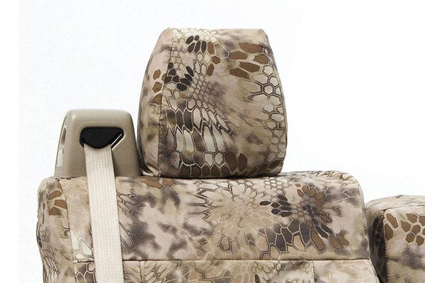 coverking kryptek camo tactical ballistic highlander headrest