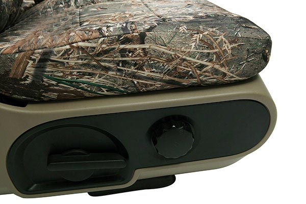 Mossy Oak Coverking Seat Covers allow access to all of your seat controls