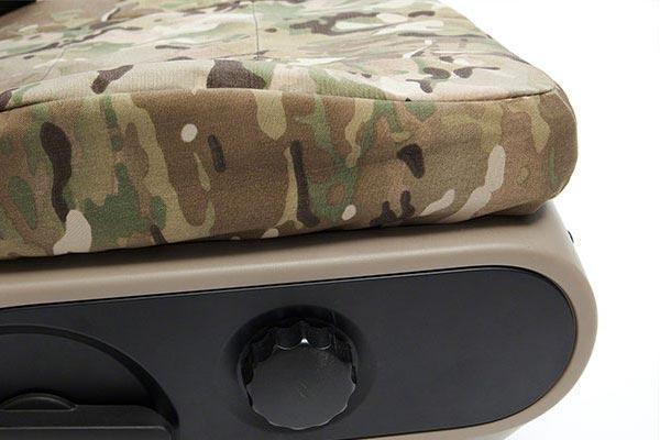 coverking multicam camo ballistic seat covers side profile