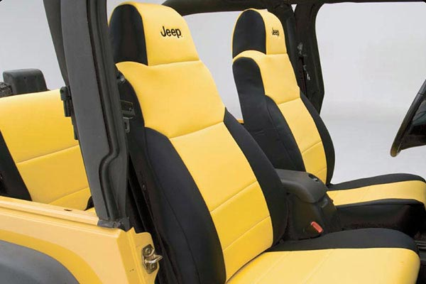 coverking neoprene jeep seat covers with logo