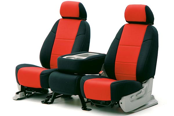 Coverking Neoprene Seat Covers F2 Black Red