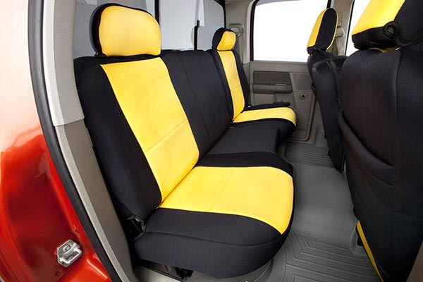 coverking neoprene seat covers rear A aa
