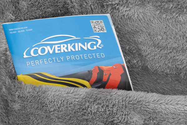 coverking snuggleplush seat covers map poket grey