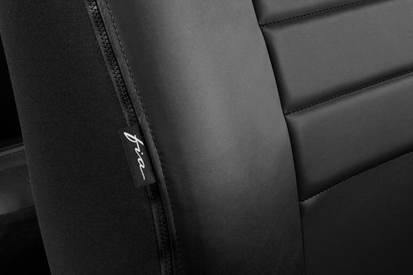 fia leatherlite seat covers air bag opening