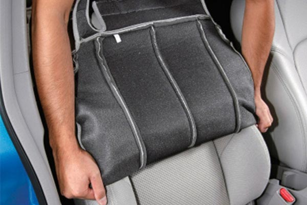 Installing a Seat Cover