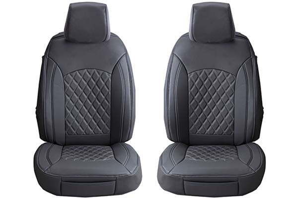 Charcoal ProZ Premium Leatherette Seat Covers