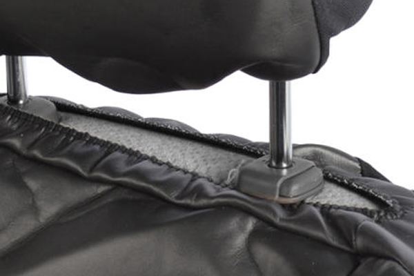 proz leatherette seat covers headrest