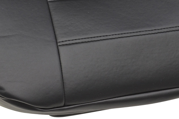 proz leatherette seat covers seat detail