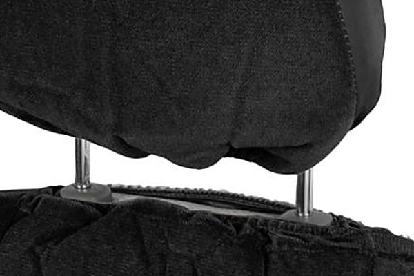 proz velour seat covers headrest compatible