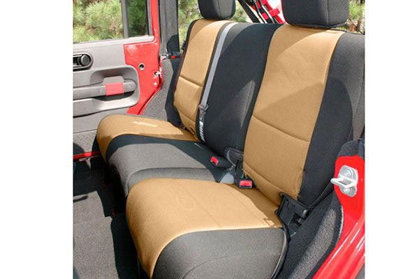 rugged ridge neoprene seat covers back seat